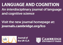 Language and Cognition